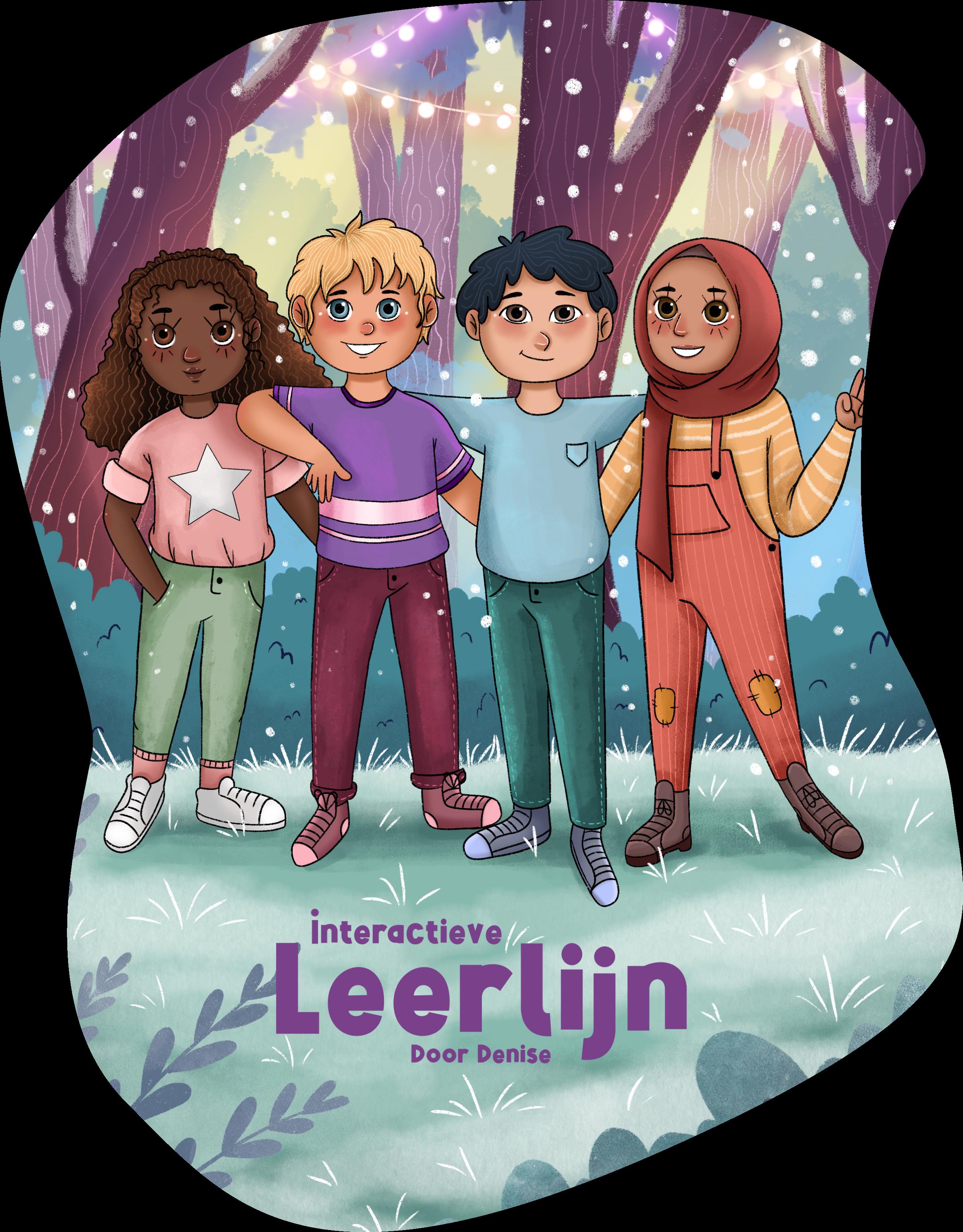 Poster Interactieve Leerlijn by Denise